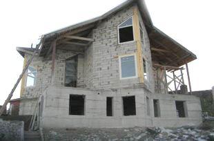 Строительство дома из пеноблока в Новосибирске
