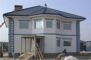 дома из пеноблоков в Новосибирске