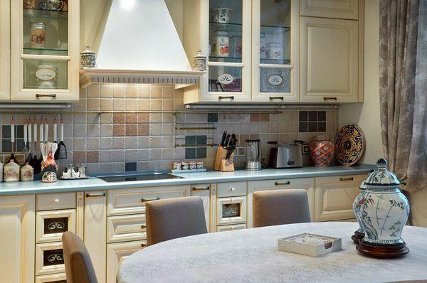 интерьер кухни дизайн проект
