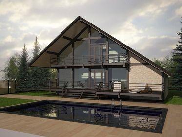 Конструктивные решения проекта дома